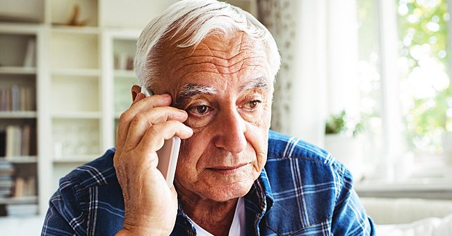 Daily Joke: An Elderly Man Calls His Son Who Lives in Another City