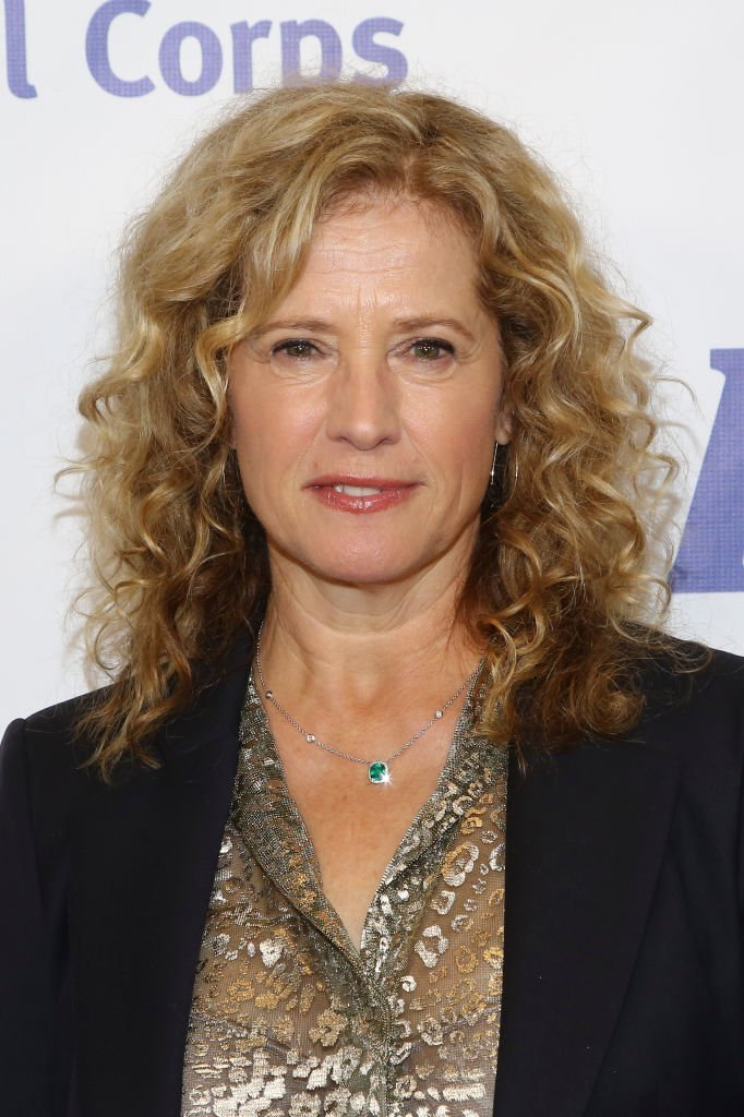 Nancy Travis arrives for the International Medical Corps' Annual Awards Celebration at Regent Beverly Wilshire Hotel  | Getty Images