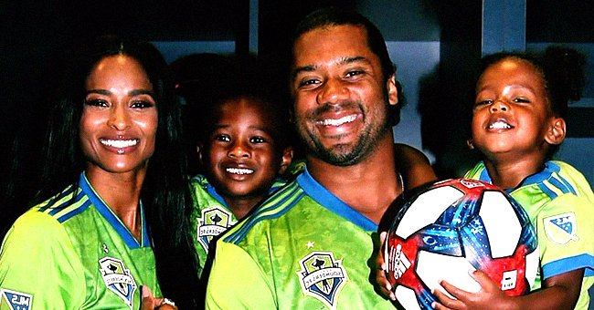 Russell Wilson Teaches Wife Ciara's Son Future Wilburn Some Football Drills (Video)