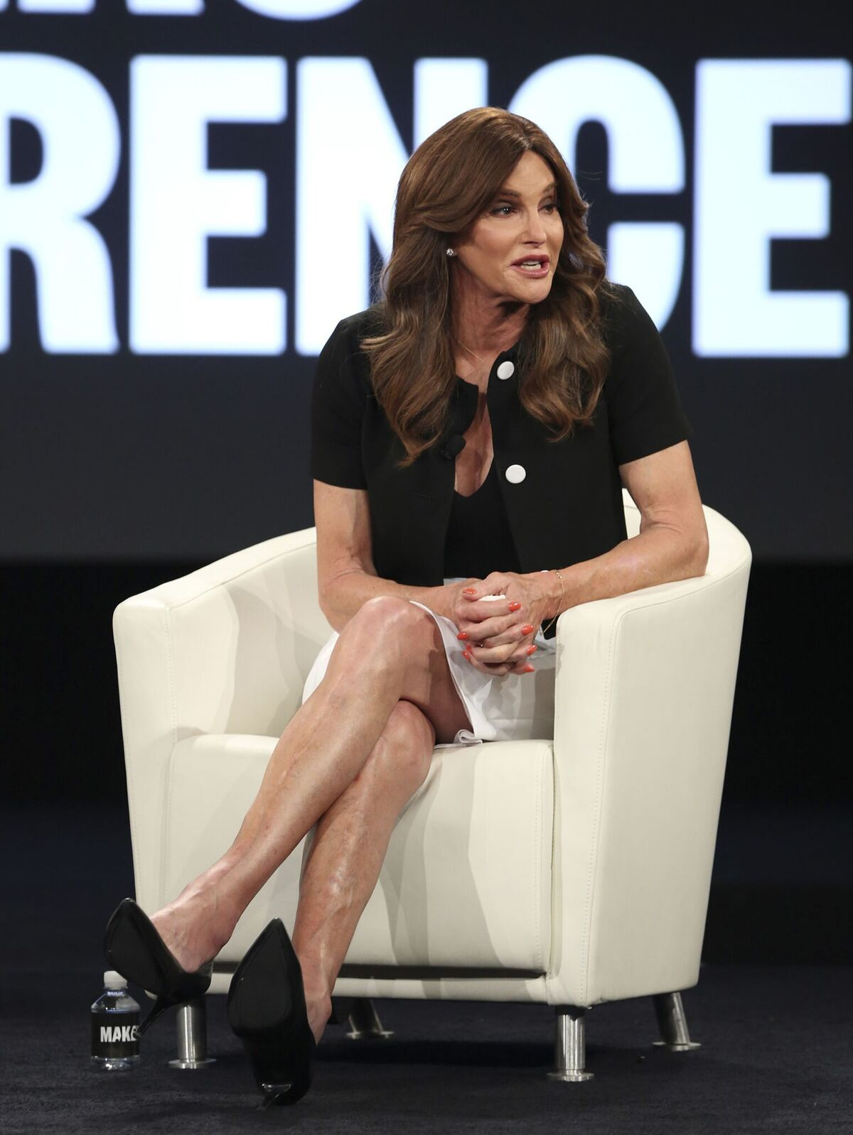 Caitlyn Jenner at the MAKERS Conference Day 2 on February 2, 2016, in Rancho Palos Verdes, California | Photo: Jonathan Leibson/Getty Images