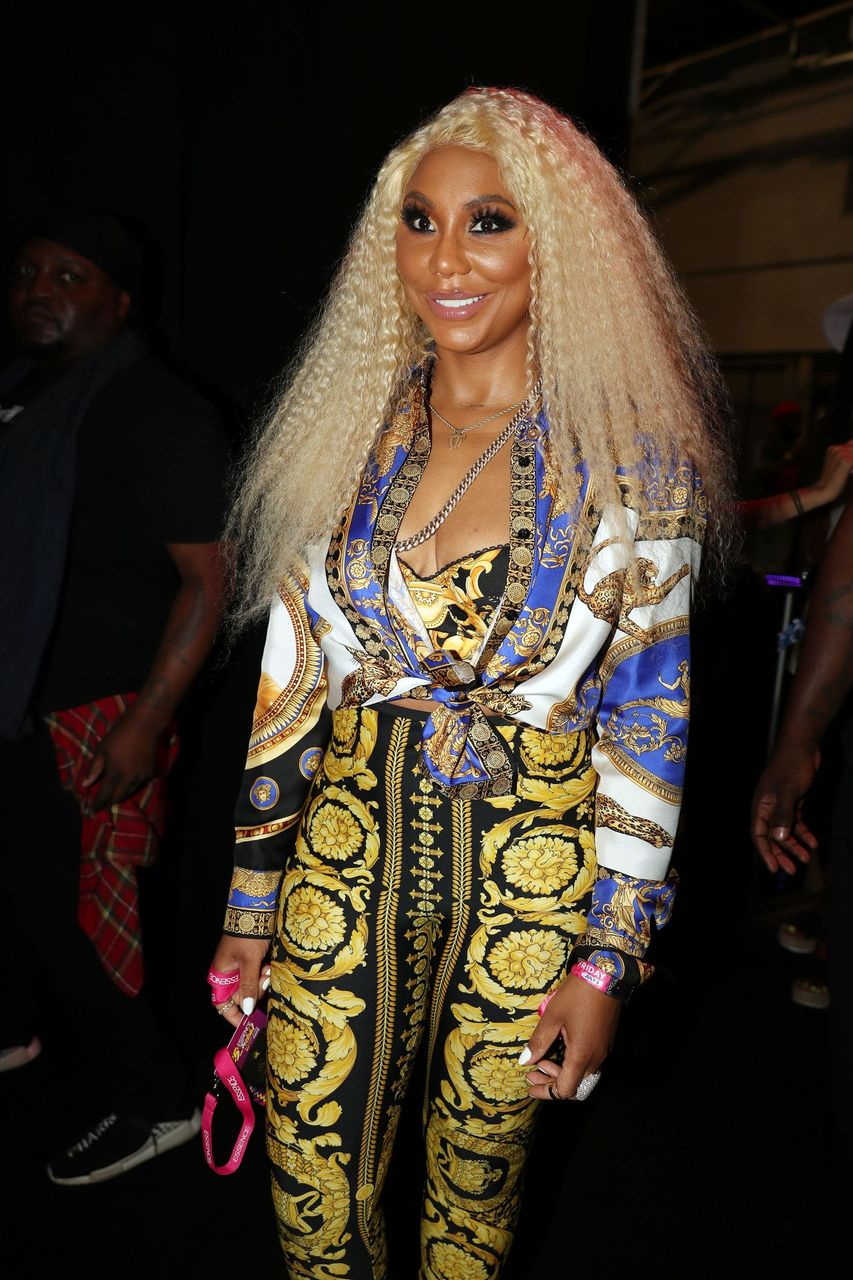 Tamar Braxton attends Day 1 of the 2019 Essence Music Festival at Ernest N. Morial Convention Center on July 5, 2019 in New Orleans, Louisiana. | Source: Getty Images
