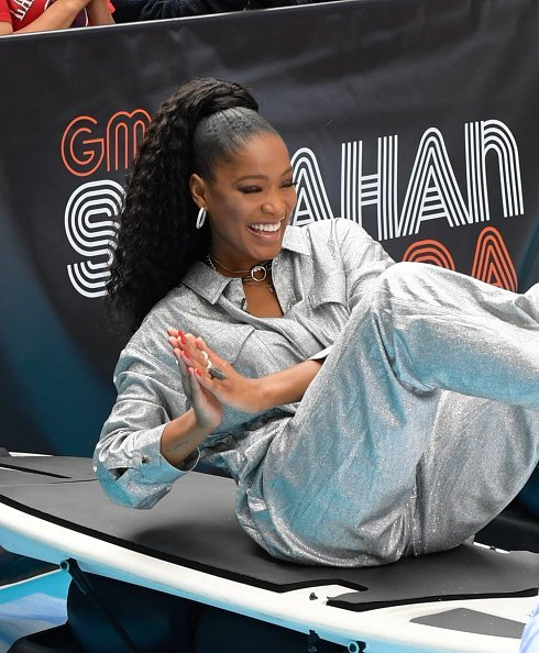 """Keke Palmer during ABC's """"Good Morning America"""" on June 17, 2019 