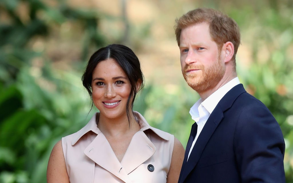 Prince Harry, le duc de Sussex et Meghan, la duchesse de Sussex assistent à une réception des industries créatives et des entreprises | Photo: Getty Images