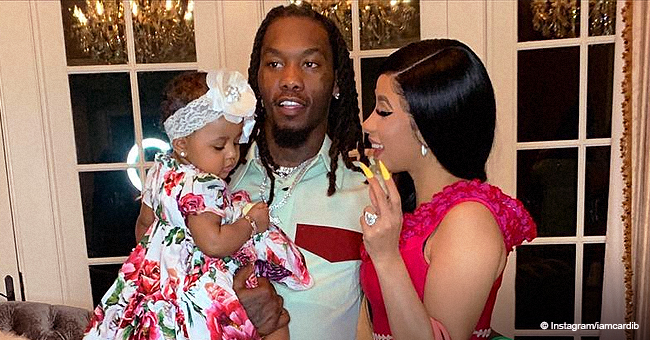 Offset Teams up with Daughter Kulture to Surprise Cardi B on Her First Mother's Day in Videos