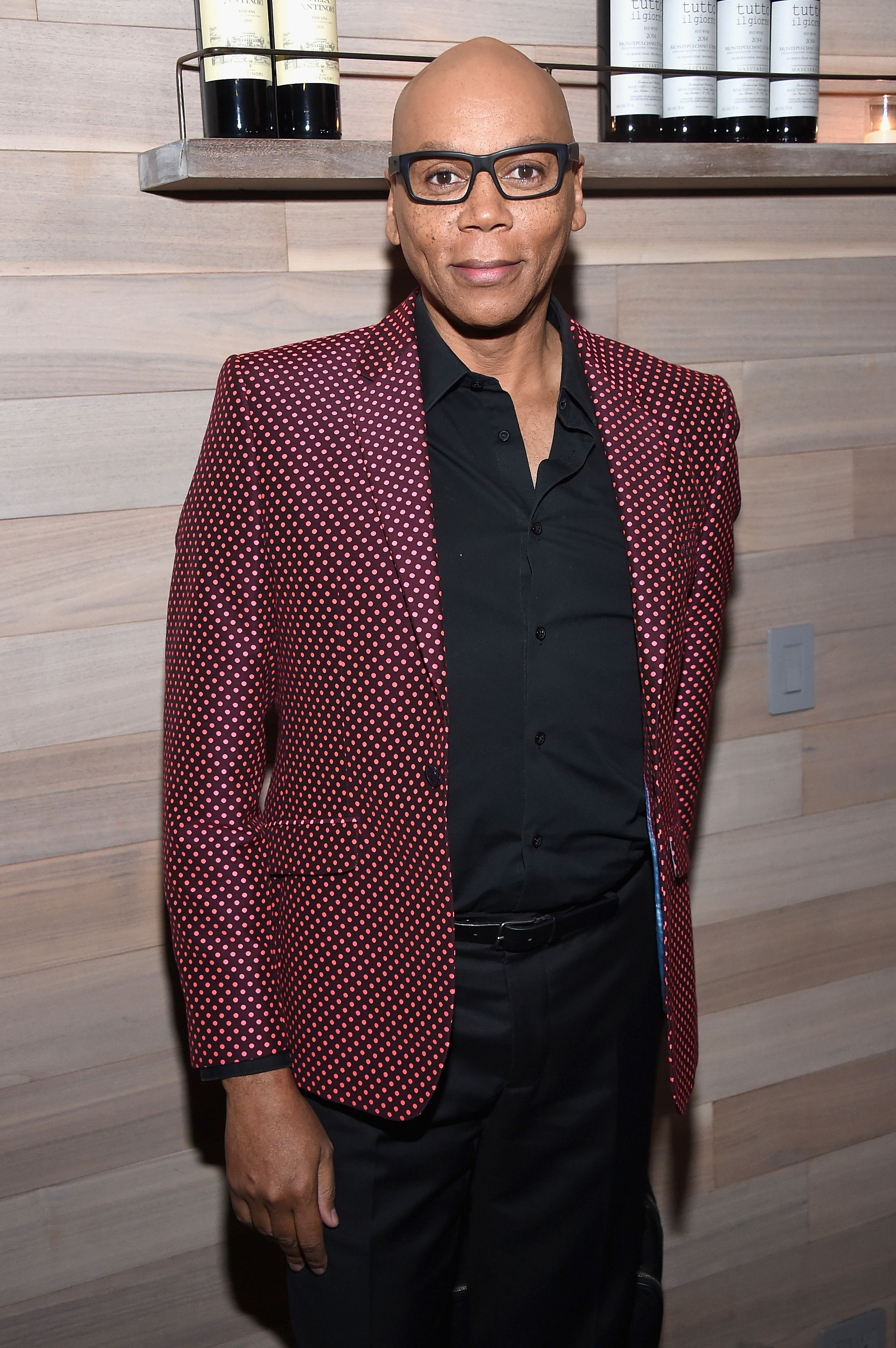 "RuPaul attends The Season 2 Premiere Of ""Shades Of Blue"" after party, hosted by NBC And The Cinema Society at Tutto Il Giorno on March 1, 2017 in New York City.  