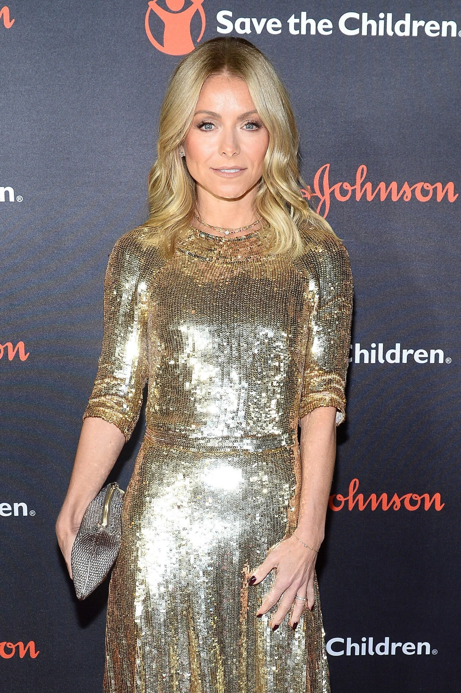 Kelly Ripa at the 6th Annual Save The Children Illumination Gala.   Source: Getty Images