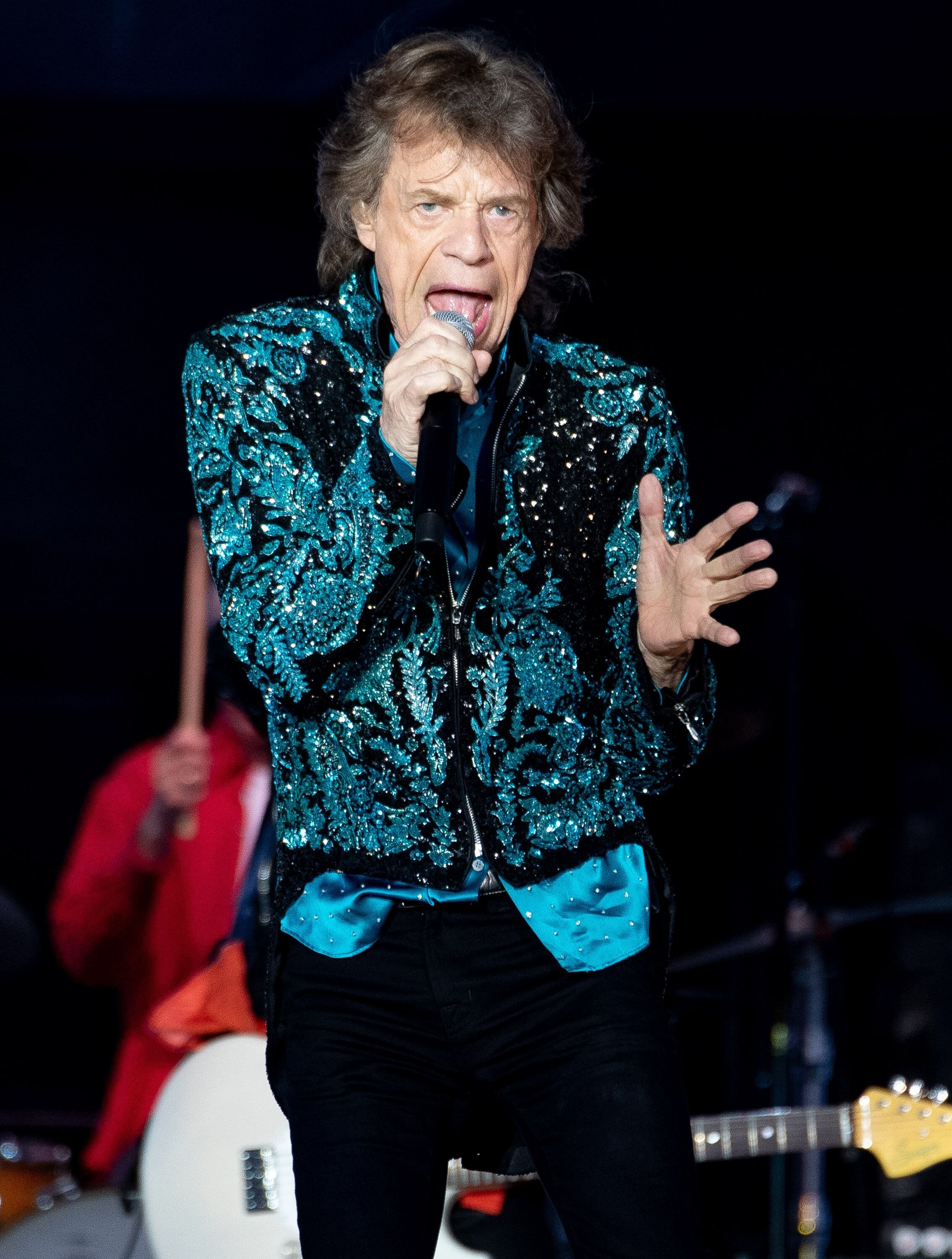 Mick Jagger performs at the Burl's Creek Event Grounds in Canada. | Source: Getty Images