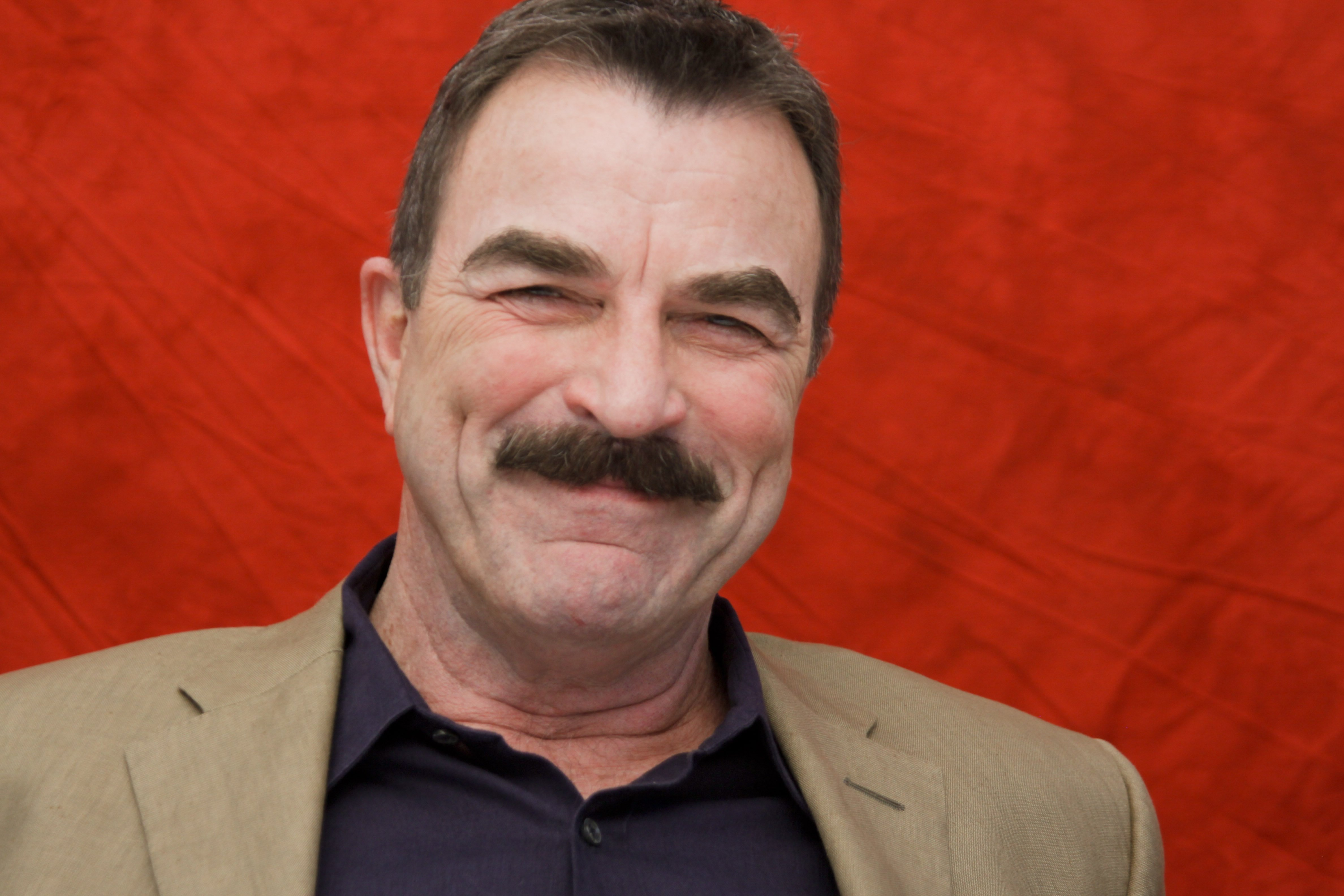 Tom Selleck poses for a photo during a portrait session in West Hollywood, California on August 16, 2010. | Photo: GetttyImages