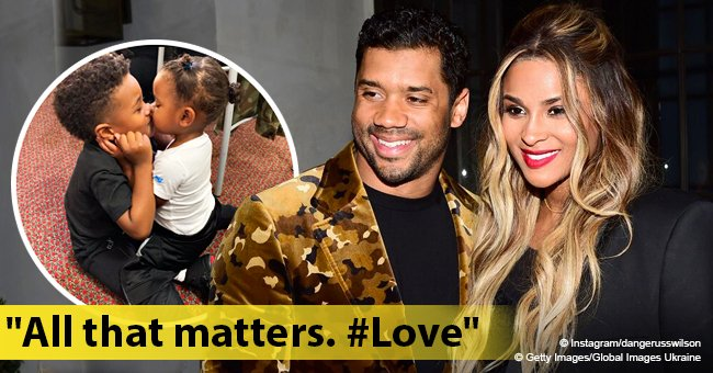 Russell Wilson appears to respond to Future's diss about him & Ciara with adorable pic of his kids