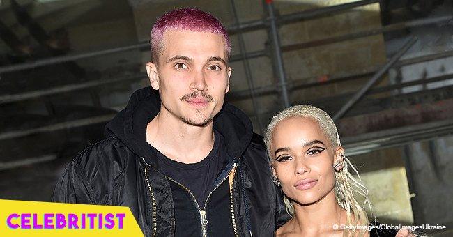 Zoë Kravitz reveals she's been secretly engaged to boyfriend Karl Glusman