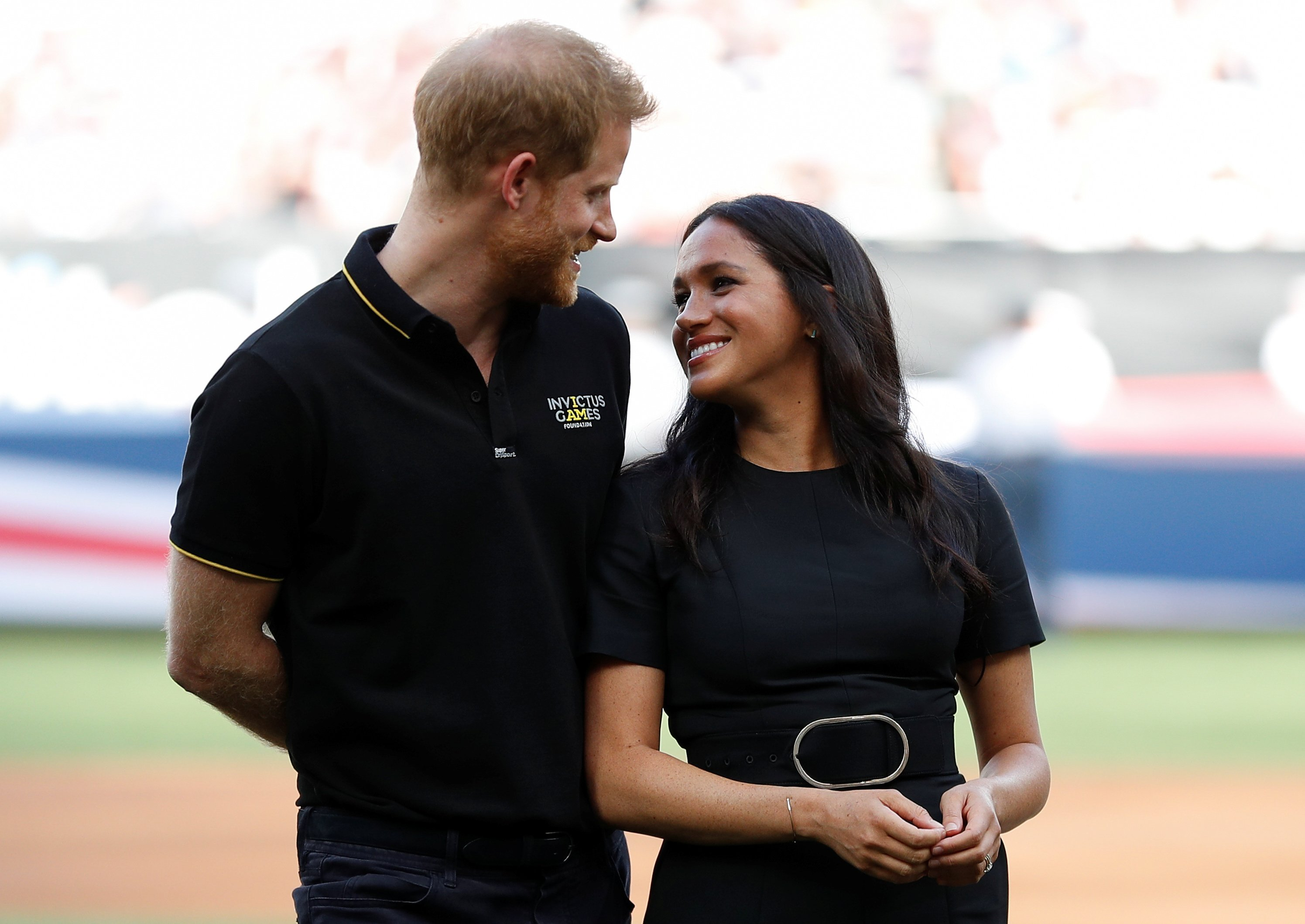 Prince Harry and Meghan Markle attend the Boston Red Sox vs New York Yankees baseball game at London Stadium on June 29, 2019 in London, England   Photo: Getty Images