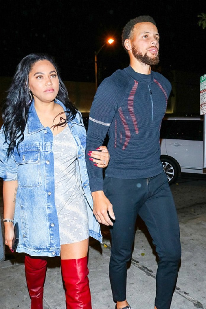 Stephen Curry and Ayesha Curry are seen on October 15, 2019 in Los Angeles, California.| Photo: Getty Images.