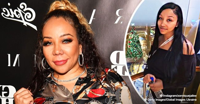 Tiny Harris' daughter Zonnique sparks pregnancy rumors after 'covering' her belly in recent pics