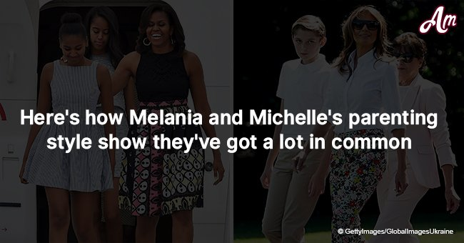 Here's how Melania and Michelle's parenting style show they've got a lot in common
