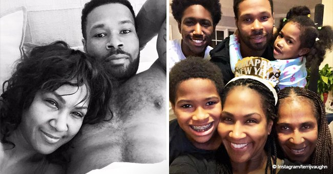 Terri J. Vaughn celebrates 11th wedding anniversary with her husband in touching photos