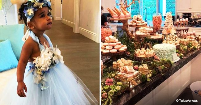 Dream Kardashian melts hearts in adorable fairy-inspired blue dress at her 2nd birthday party