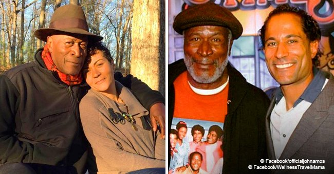 Remember James Evans from 'Good Times'? He is 77 & has 2 adult kids who look like him