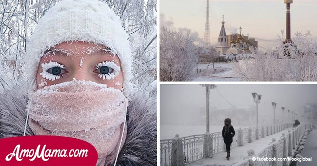 The world's coldest village reaches near-record temperatures after recording -79.6 °F