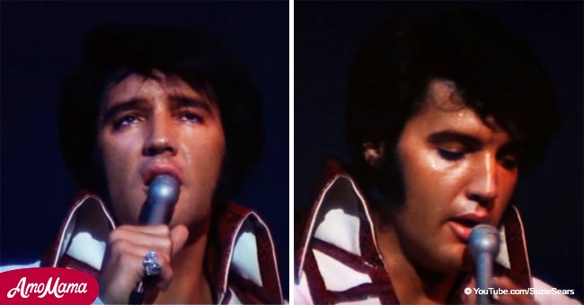 It's always a good day to listen to Elvis' iconic 'In the Ghetto' without any instruments