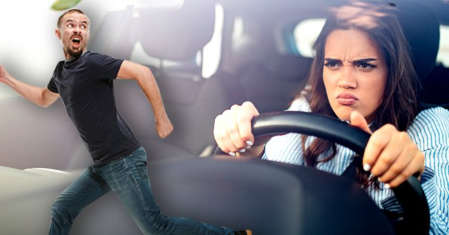 The woman told the instructor she'd crash the car into her husband. | Photo: Shutterstock
