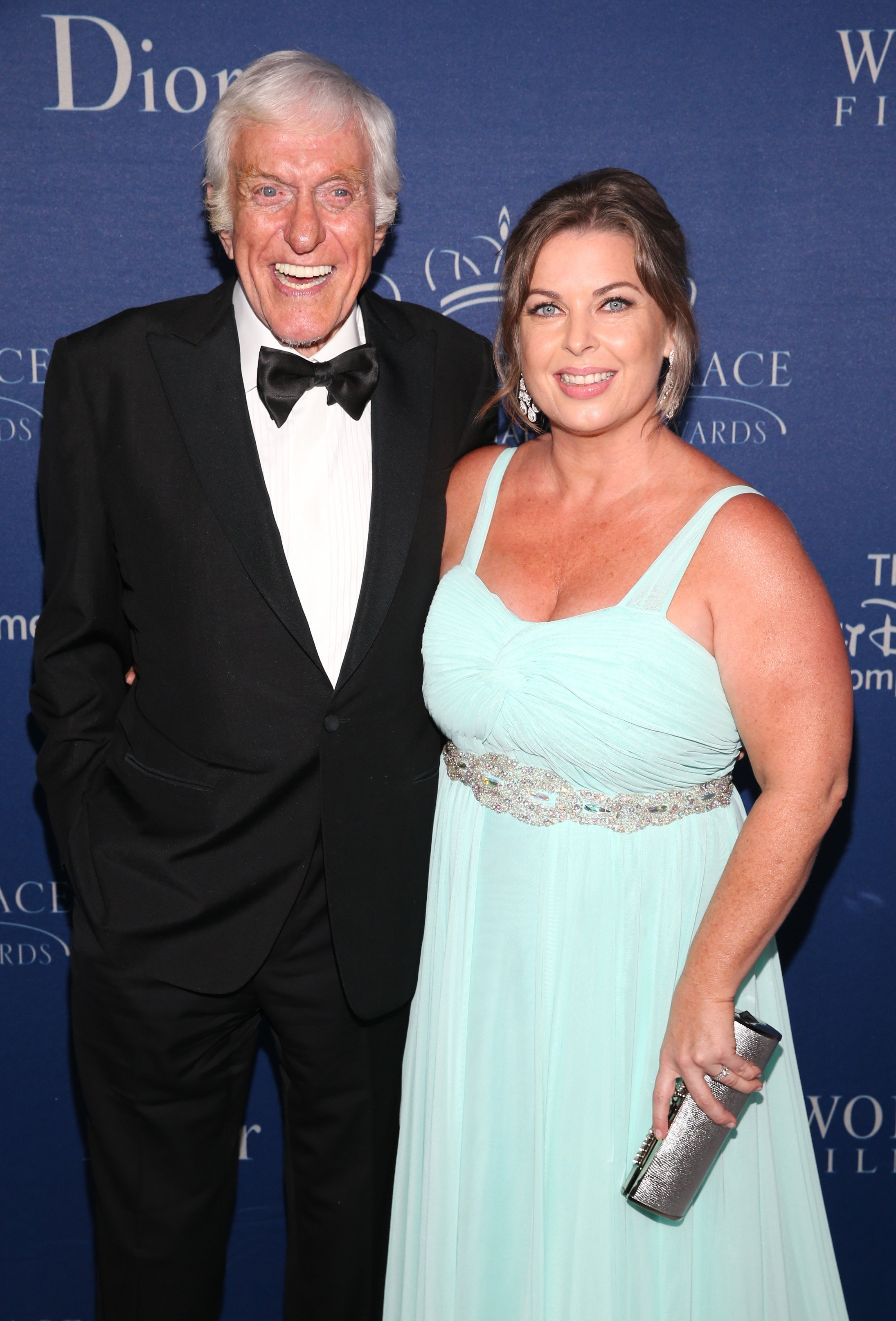 Dick Van Dyke and his wife Arlene Silver    Source: Getty Images
