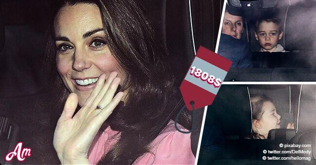 Kate Middleton recrea a la perfección su look del 2009 en almuerzo navideño con niños