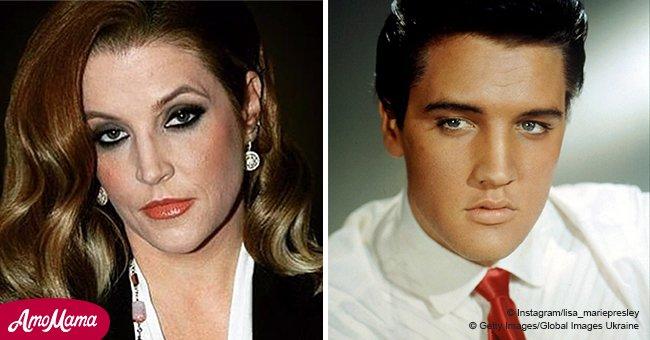 Die Tochter von Elvis Presley zeichnete mit ihrem Vater wunderschöne Duette auf