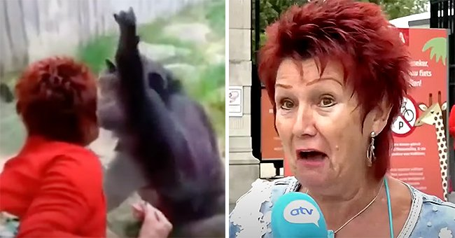 Photo of a distraught red-haired woman | Photo:  youtube.com / Daily Blast LIVE