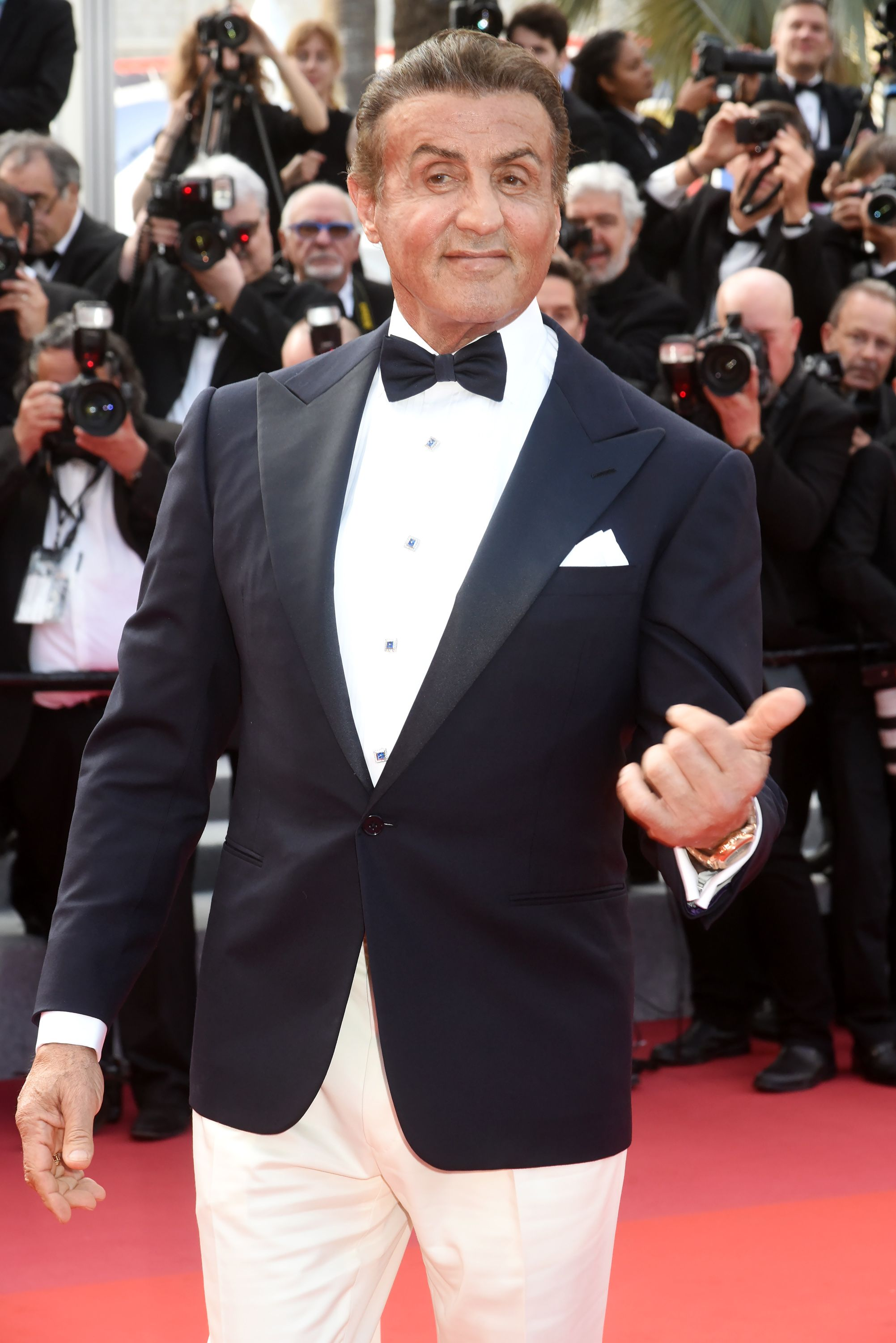 """Sylvester Stallone at the closing ceremony screening of """"The Specials"""" during the 72nd annual Cannes Film Festival on May 25, 2019 