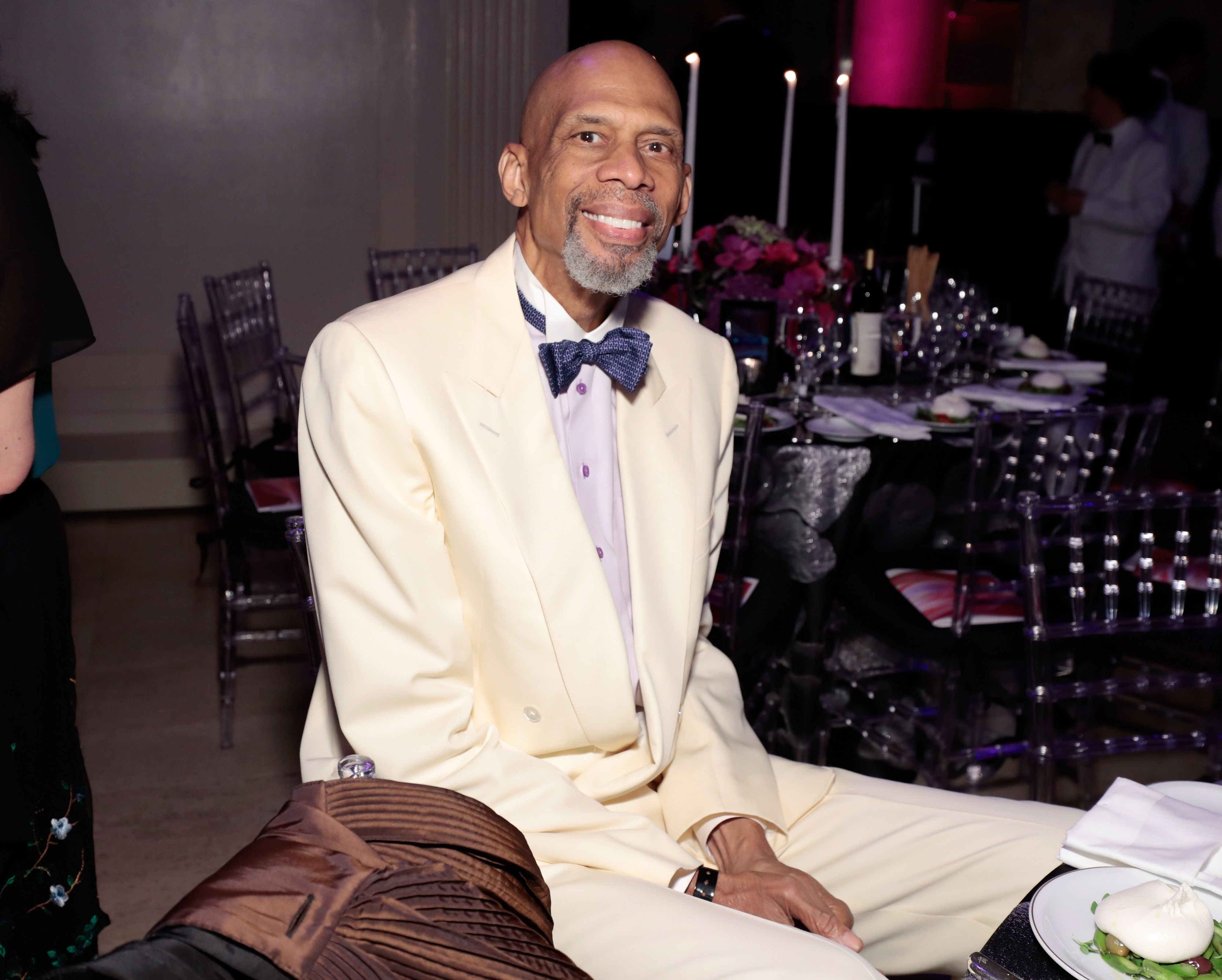 Kareem Abdul-Jabbar at Gabrielle's Angel Foundation's Angel Ball 2017 in New York City. | Source: Getty Images