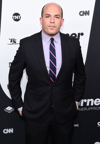 Brian Stelter at 2016 Turner Upfront at Nick & Stef's Steakhouse in New York. | Photo: Getty Images.