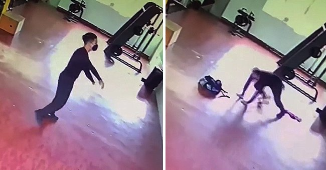 Man Runs Out of Gym Scared after Being 'Attacked by a Ghost'