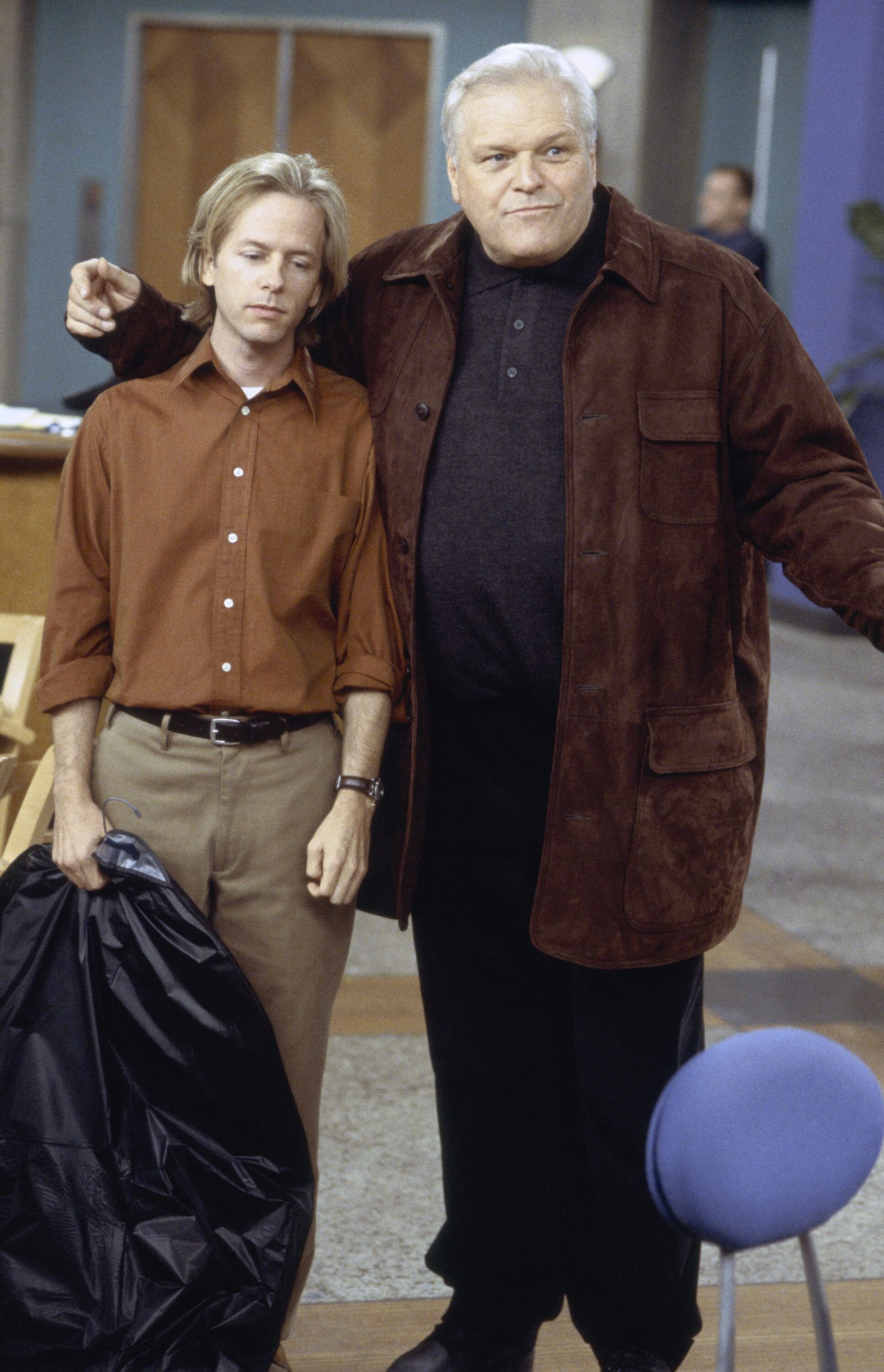 """""""Nina See's Red Pt. 2"""" Episode 15 -- Air Date 02/16/1999 -- David Spade as Dennis Finch, Brian Dennehy as Red Finch 