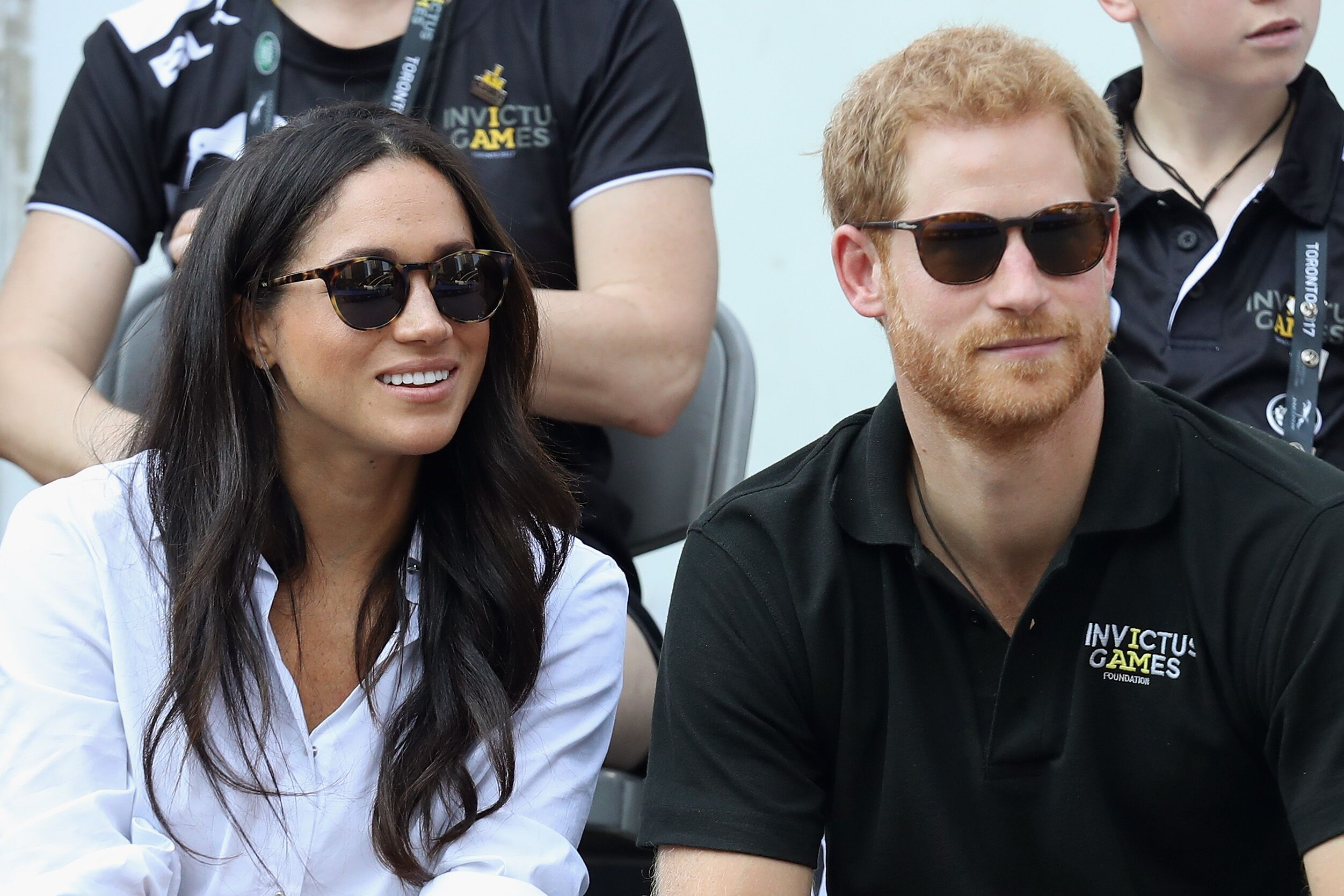rince Harry and Meghan Markle attend a Wheelchair Tennis match during the Invictus Games 2017 at Nathan Philips Square on September 25, 2017 in Toronto, Canada | Photo: Getty Images