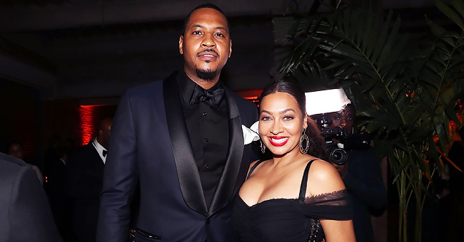 La La Anthony Spotted Having Dinner with Husband Carmelo Amid Divorce Rumors