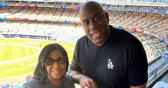Magic Johnson & Wife Cookie Are All Smiles Flashing Their World Series Championship Rings (Photos)