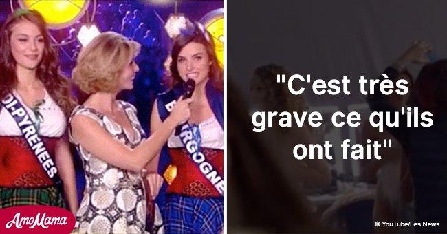 """""""La Miss filmée seins nus en direct dans les coulisses: L'internaute donne un conseil radical """""""