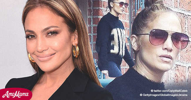 49-Year-Old Jennifer Lopez Looks Great While Running Errands