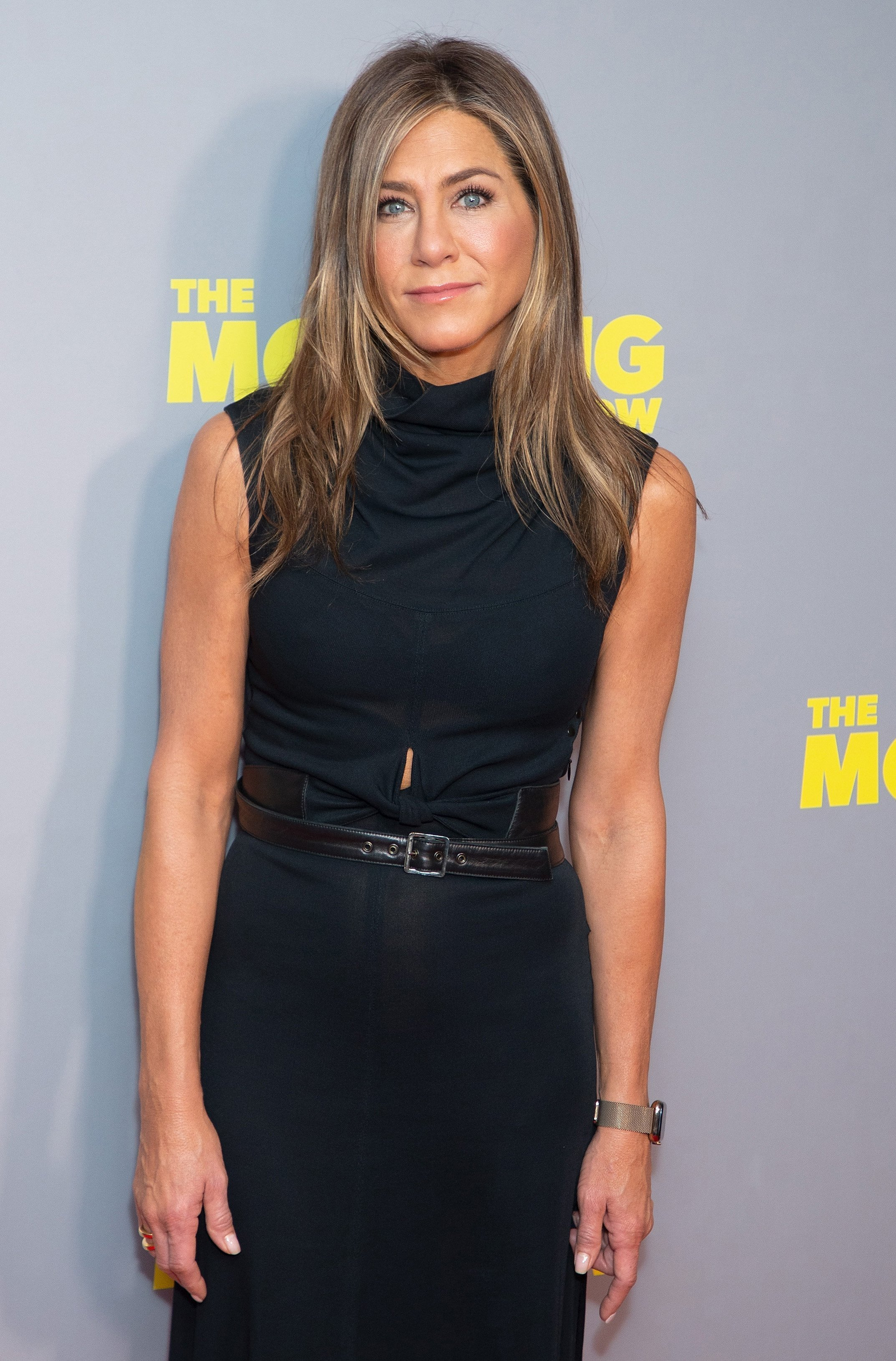 """Jennifer Aniston attends """"The Morning Show"""" special screening at Ham Yard Hotel on November 01, 2019, in London, England. 
