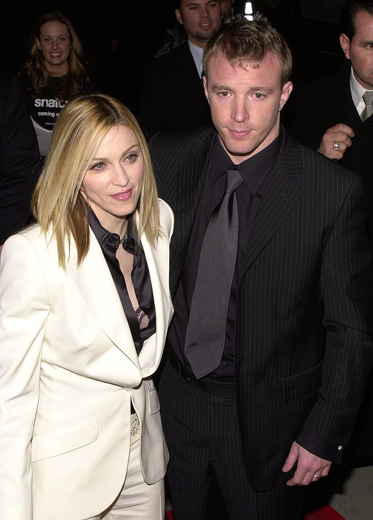 Madonna and Guy Ritchie. I Image: Getty Images.
