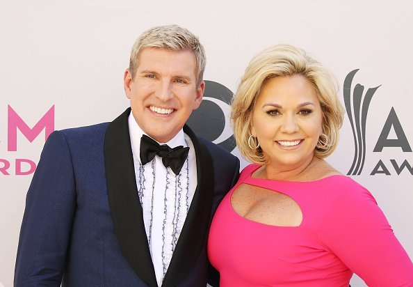 Todd Chrisley and Julie Chrisley arrive at the 52nd Academy of Country Music Awards held at T-Mobile Arena on April 2, 2017 in Las Vegas, Nevada | Photo: Getty Images