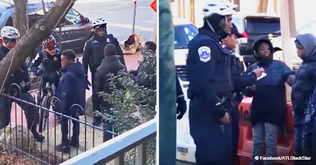 Video of 3 young boys stopped & frisked by 7 police officers right before Christimas sparks fury