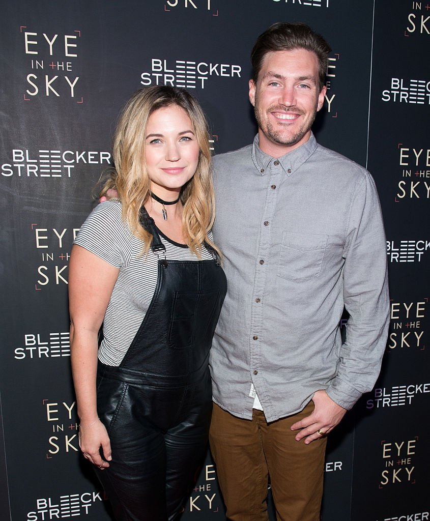 "Vanessa Ray and Landon Beard attend the ""Eye In The Sky"" New York premiere 