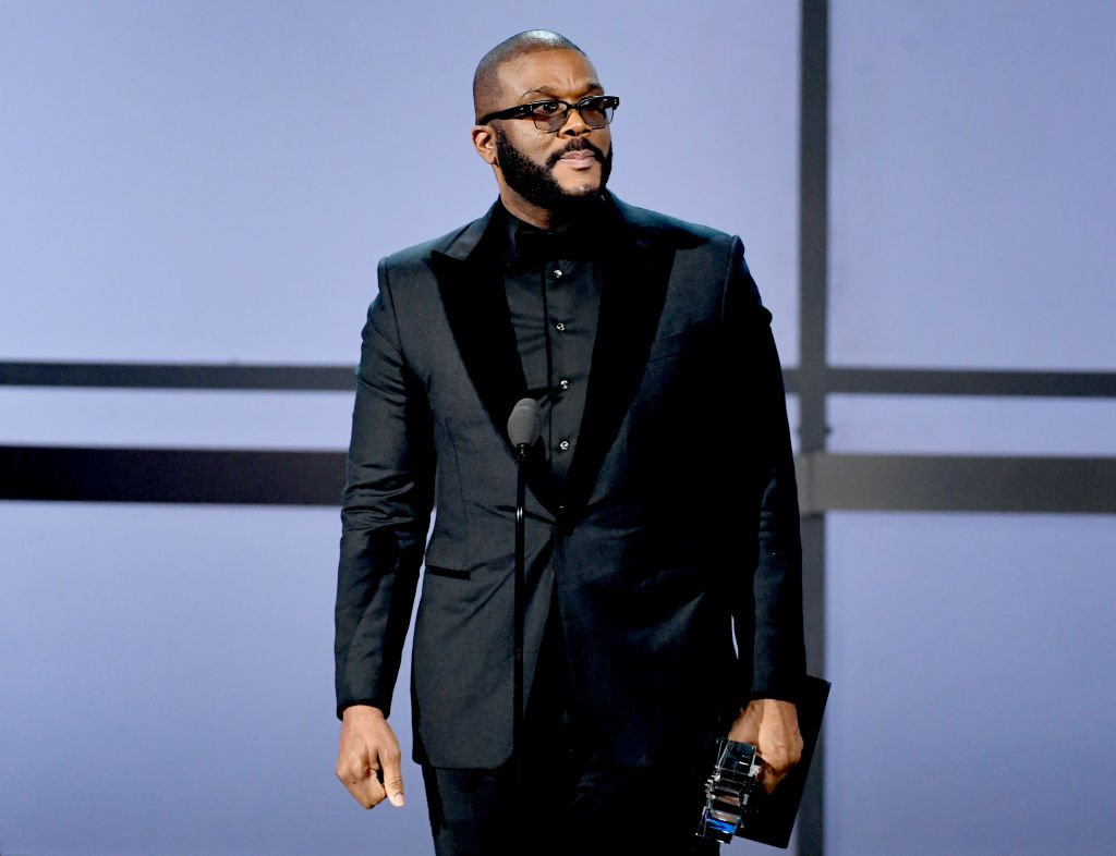 Tyler Perry accepts the Ultimate Icon Award onstage at the 2019 BET Awards | Photo: Getty Images