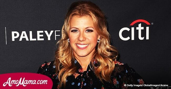 Jodie Sweetin, 36, shares a photo of her two young daughters while they model the catwalk