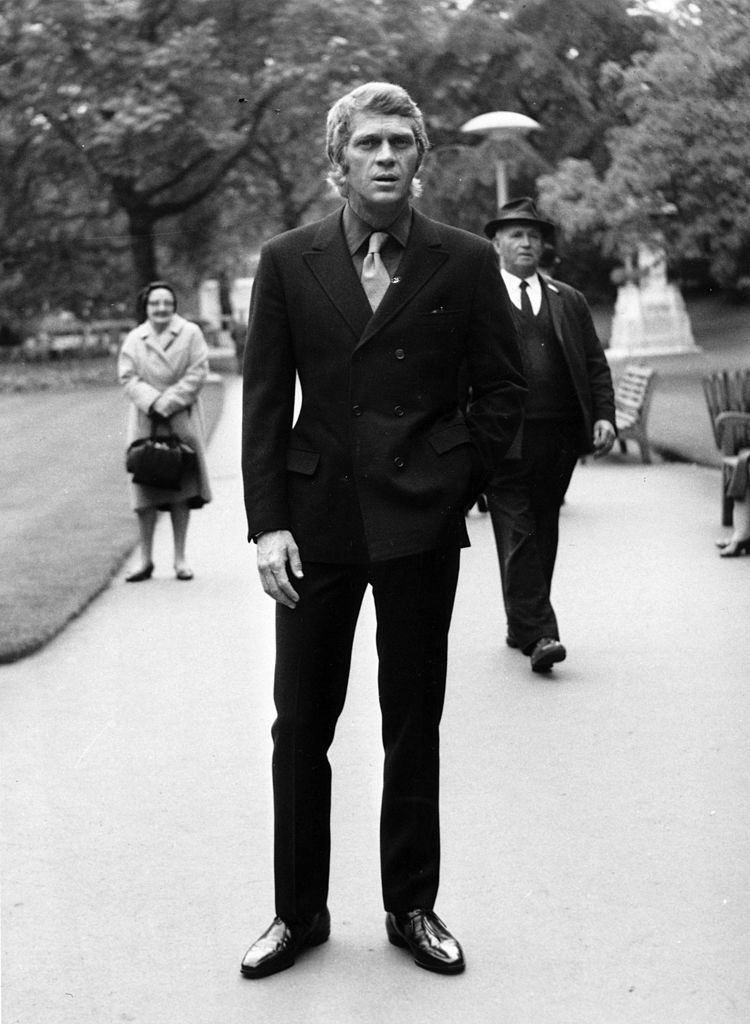 Le comédien Steve McQueen en juin 1969 à Londres. l Source : Getty Images