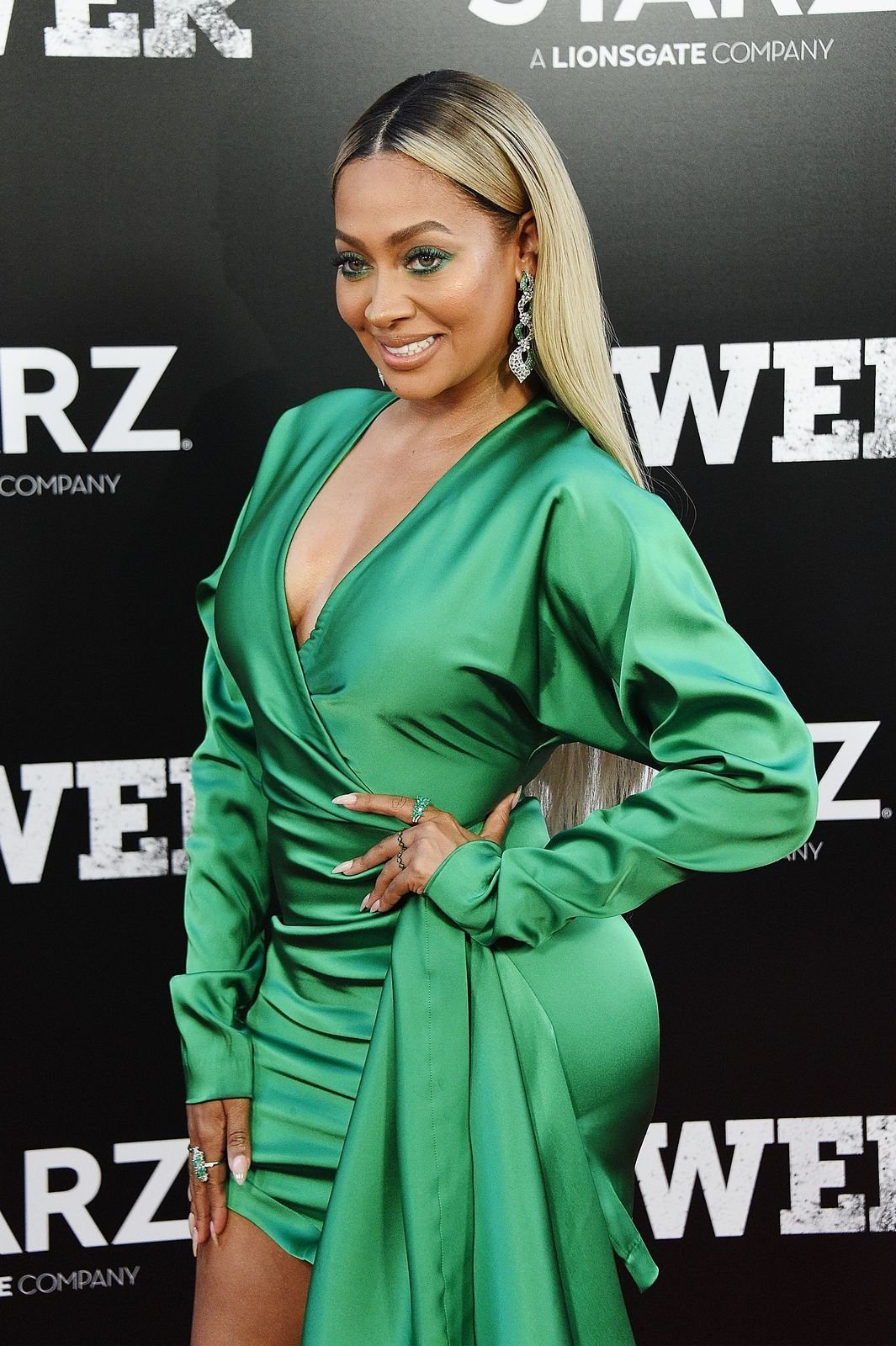 "La La Anthony attends the ""POWER"" Season 5 Premiere at Radio City Music Hall on June 28, 2018 