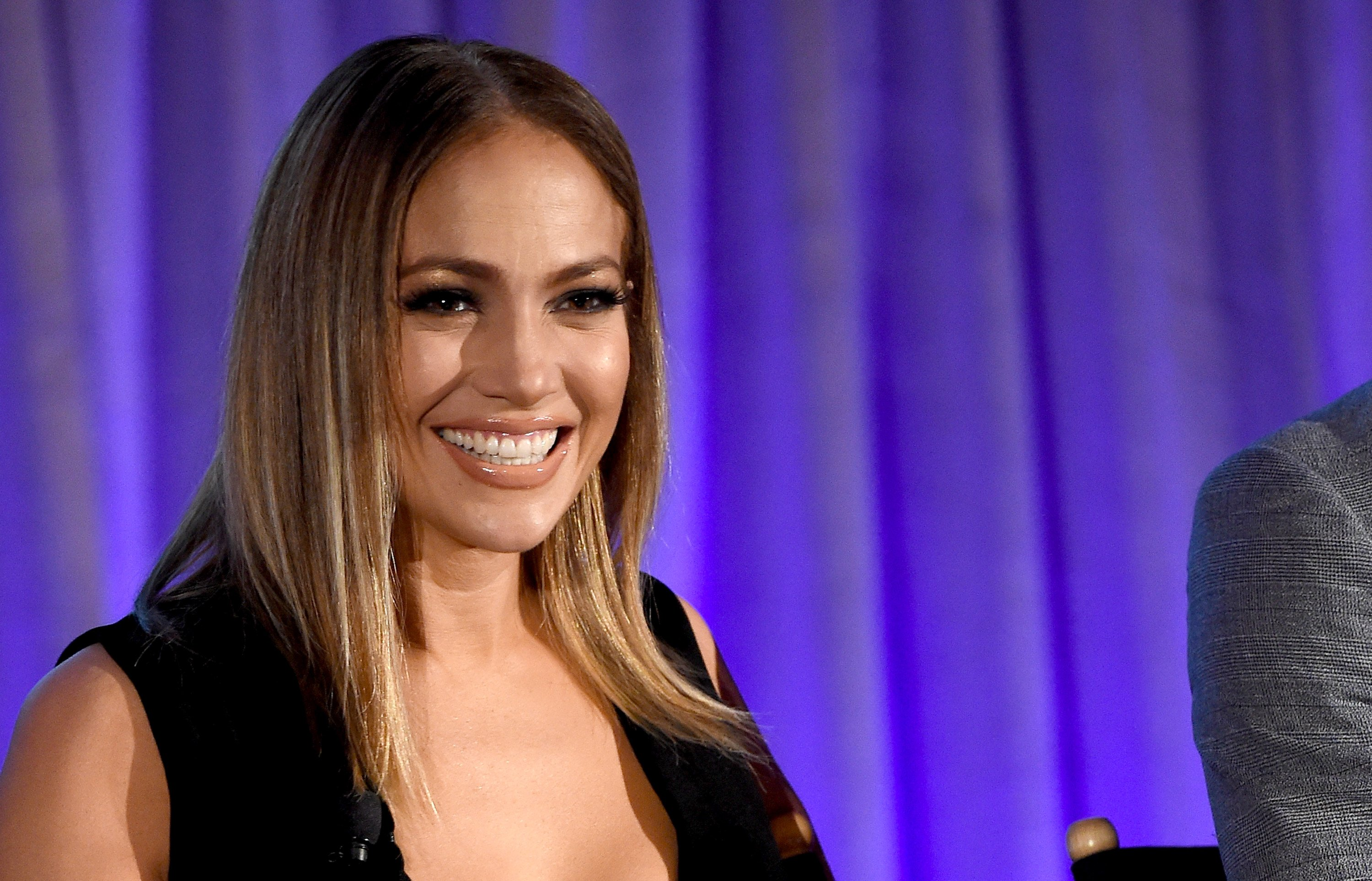 Jennifer Lopez speaks onstage during the 2017 NBCUniversal Summer Press Day on March 20, 2017 in Beverly Hills, California   Photo: Getty Images