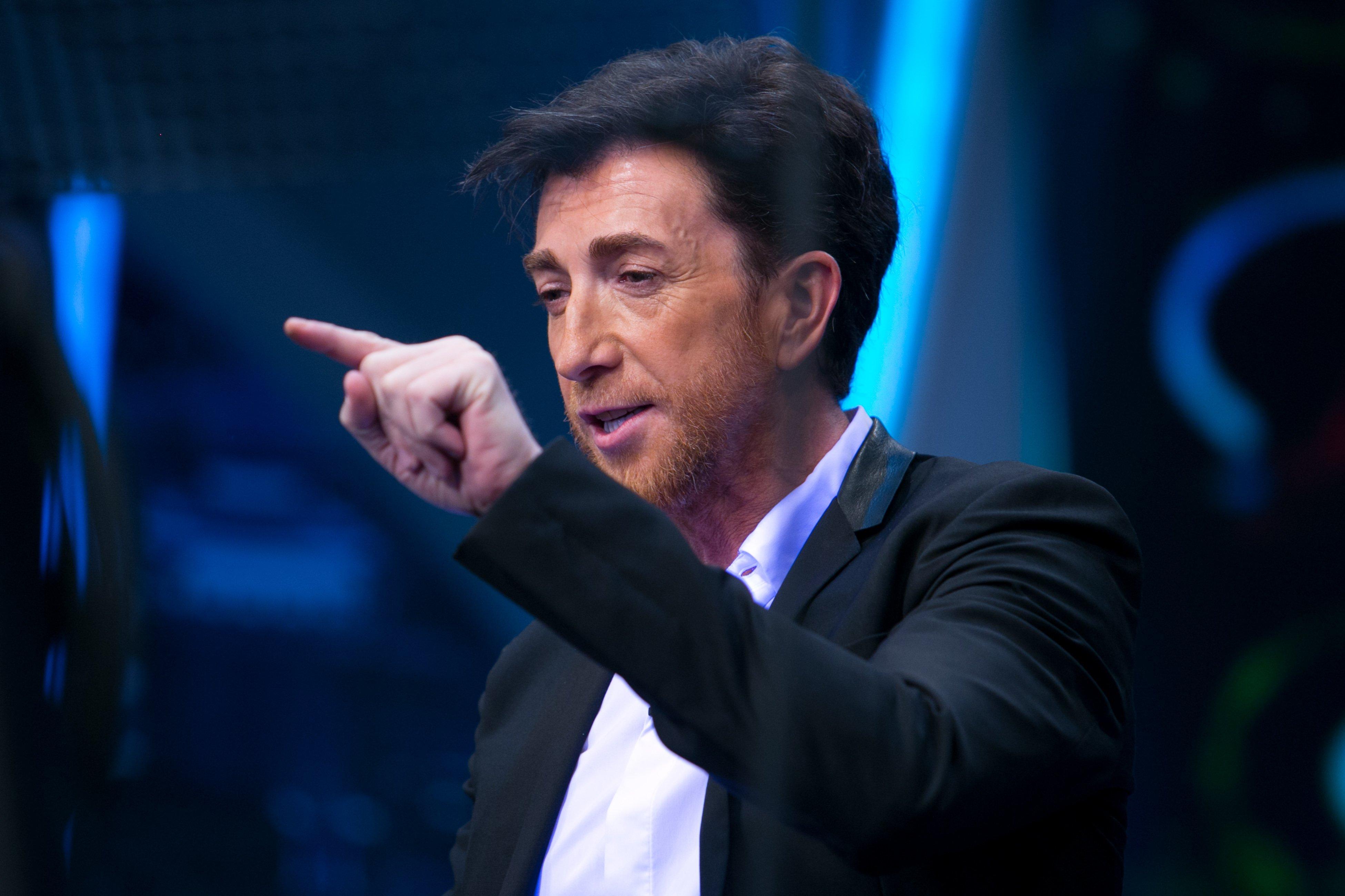 """Pablo Motos en el plató de """"El Hormiguero"""".    Fuente: Getty Images"""