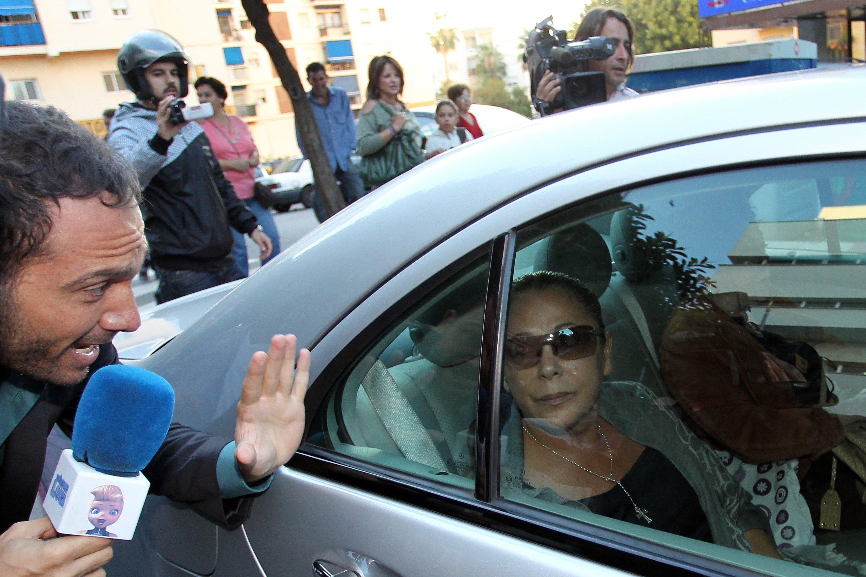 Isabel Pantoja asiste al juicio de corrupción por caso Malaya en 2010 | Fuente: Getty Images